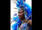 Dominica-Kráska v modrém