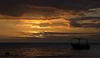 Dominica-Sunset na Sunset Bay